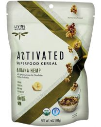 Activated Superfood-Müsli Banana Hemp - roh (255g)