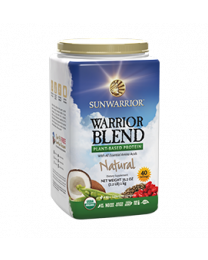 Sunwarrior - Warrior Blend Natural - bio & roh (750g)