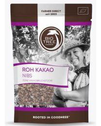 Kakao Nibs - Big Tree Farms - bio & roh (120g)