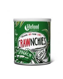 Crawnchies - Spinat Knoblauch - bio & roh (30g)