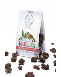 Choco MarblChoco Marbles - Sour Cherry in raw chocolate -  bio & roh (50g)