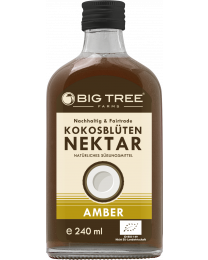 Big Tree Farms - Kokosblütensirup dunkel - bio (240ml)