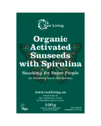 Activated Sunseeds with Spirulina - bio & roh (100g)