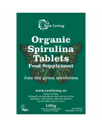 Spirulina-Tabletten bio  (100g - 200x500 mg)