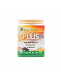 Sunwarrior Classic PLUS Natural - bio & roh (375g)