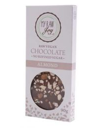 Raw Chocolate Almond BIG - My Raw Joy - bio  (90g)