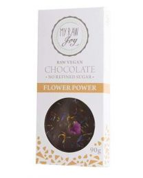 Raw Chocolate Flower Power BIG - My Raw Joy - bio  (90g)