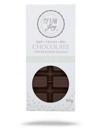 Raw Chocolate Plain BIG - My Raw Joy - bio  (90g)