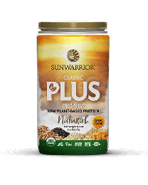 Sunwarrior Classic PLUS Natural - bio & roh (750 g)