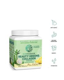 Beauty Greens Collagen Booster - Sunwarrior - Piña Colada (300 g)