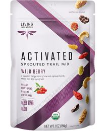 Activated Sprouted Trail Mix - Wildberry - bio & roh (198g)